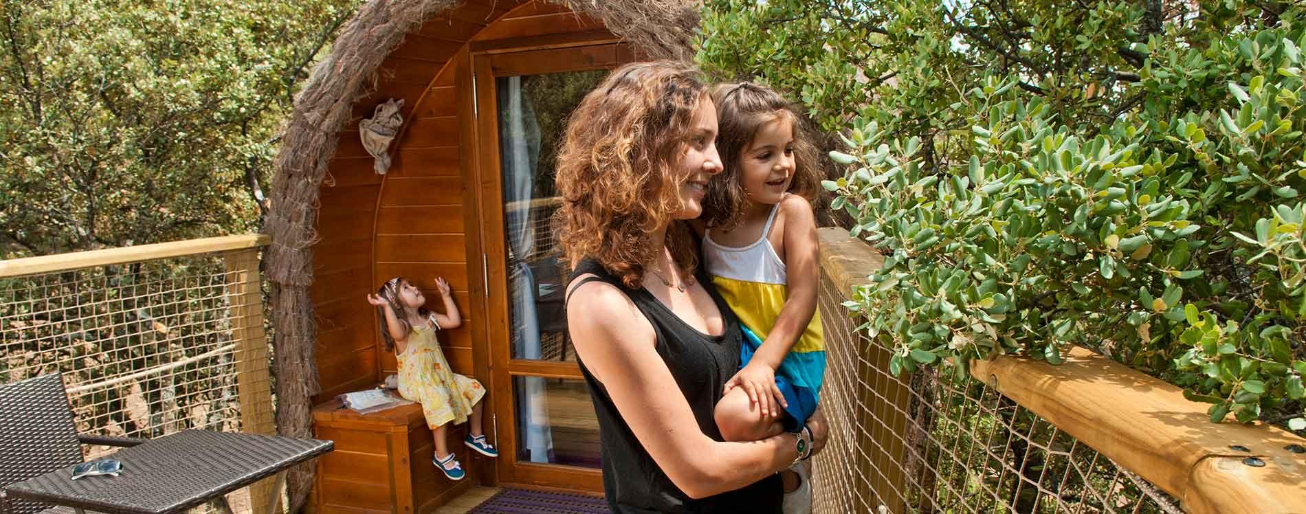 Cabañas en los árboles en Madrid que hacer con niños en Madrid