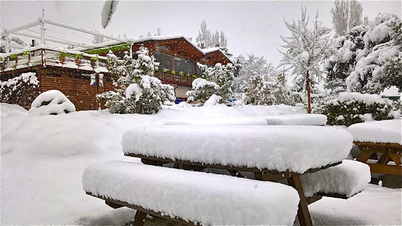 Fotos de nieve en la Sierra de Madrid. Y el próximo finde, más nieve ...